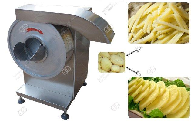 potato fries cutting machine