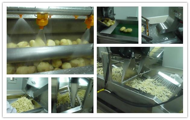 Frozen French Fries Machine
