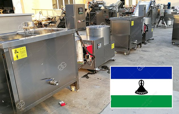 Small Scale French Fries Production Line Sold To Lesotho