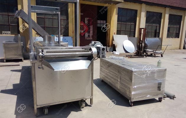 Continuous Fryer Machine to Malaysia