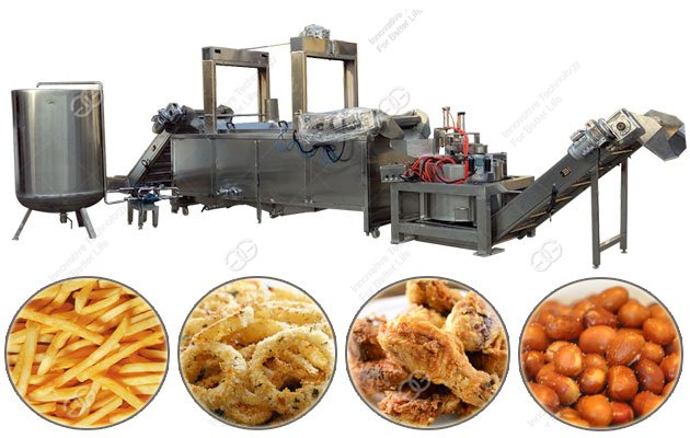 Automatic Fryer Machine Line for Meat Products